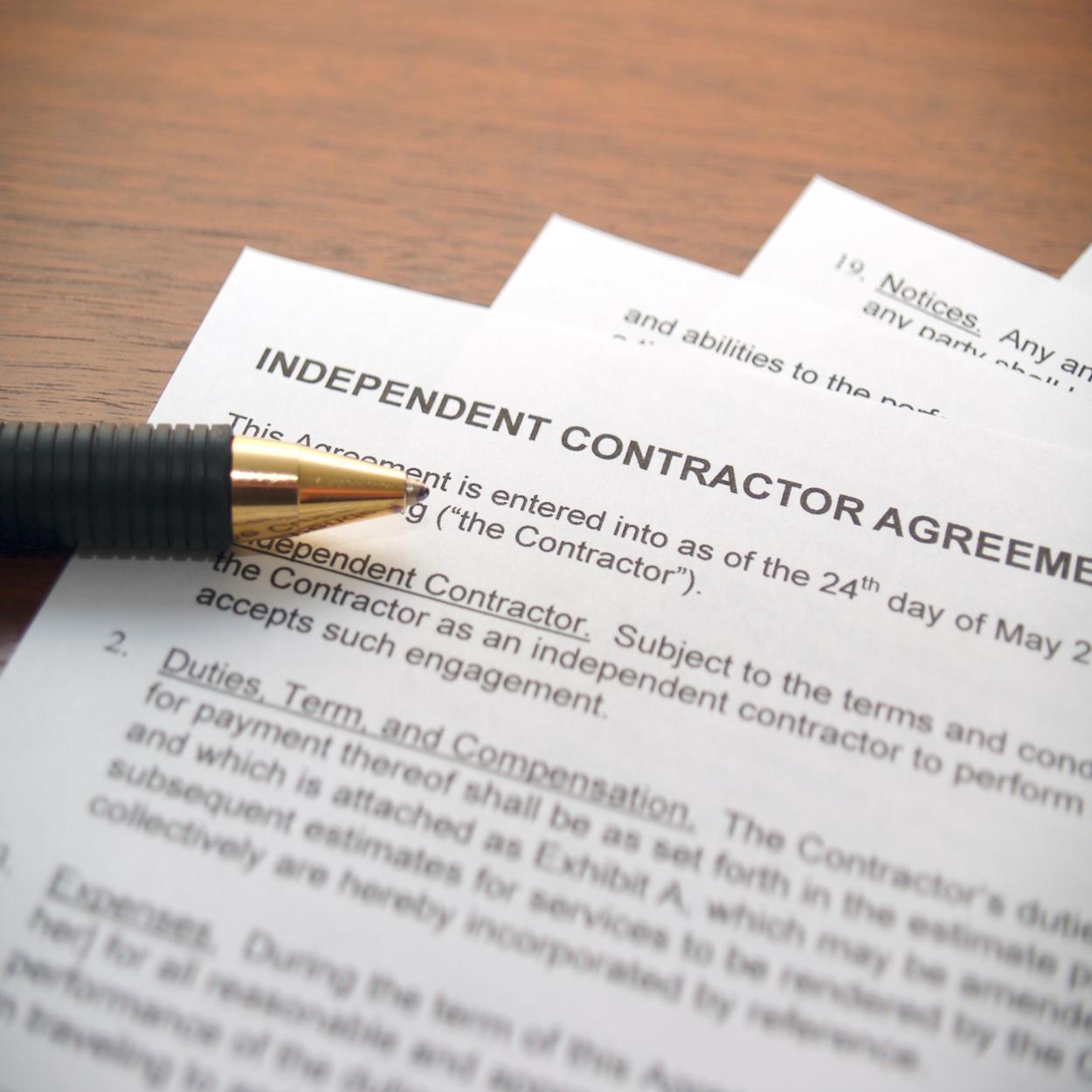 Independent Contractor Workers Comp
