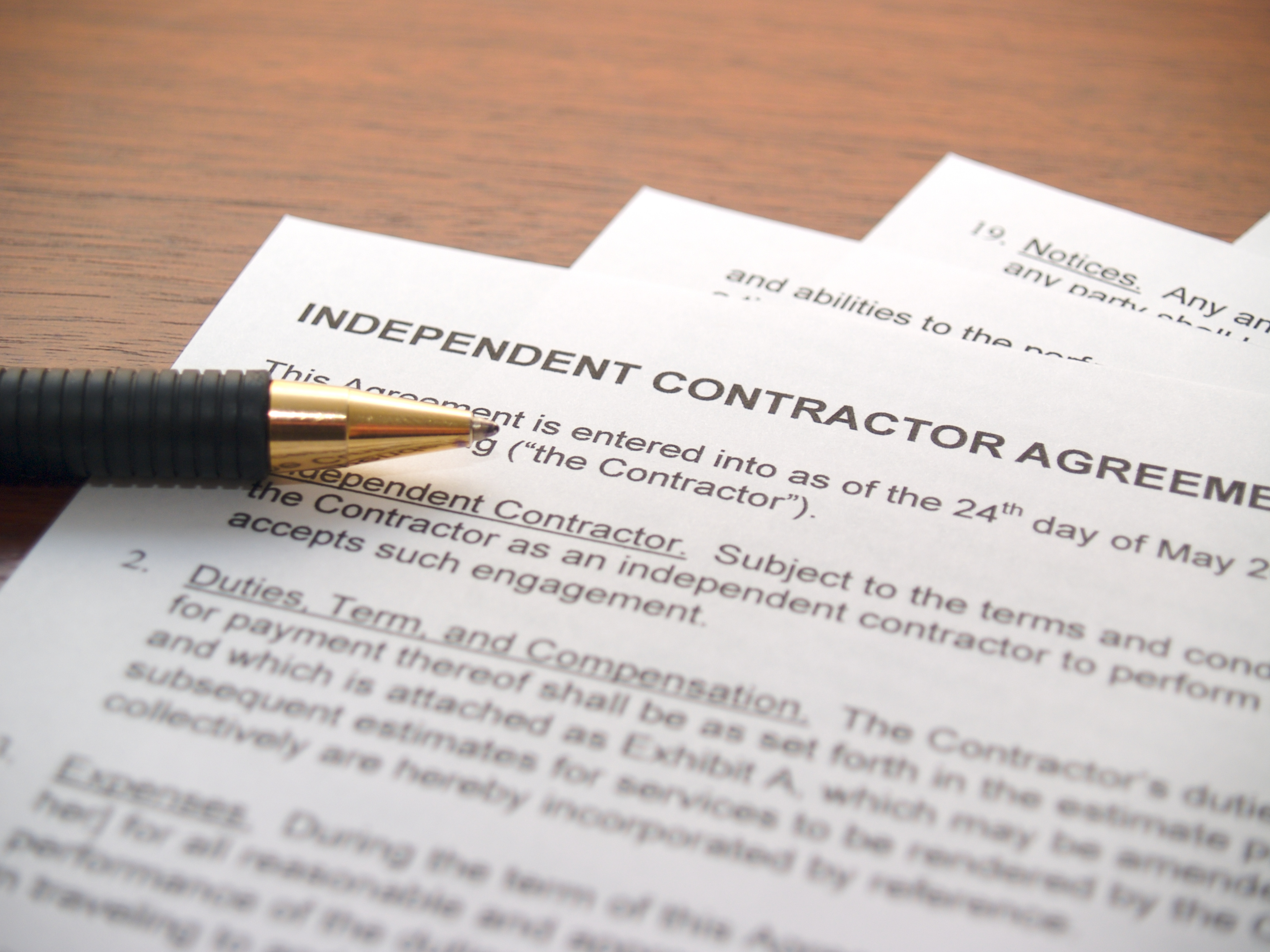 Independent Contractors Workers Comp