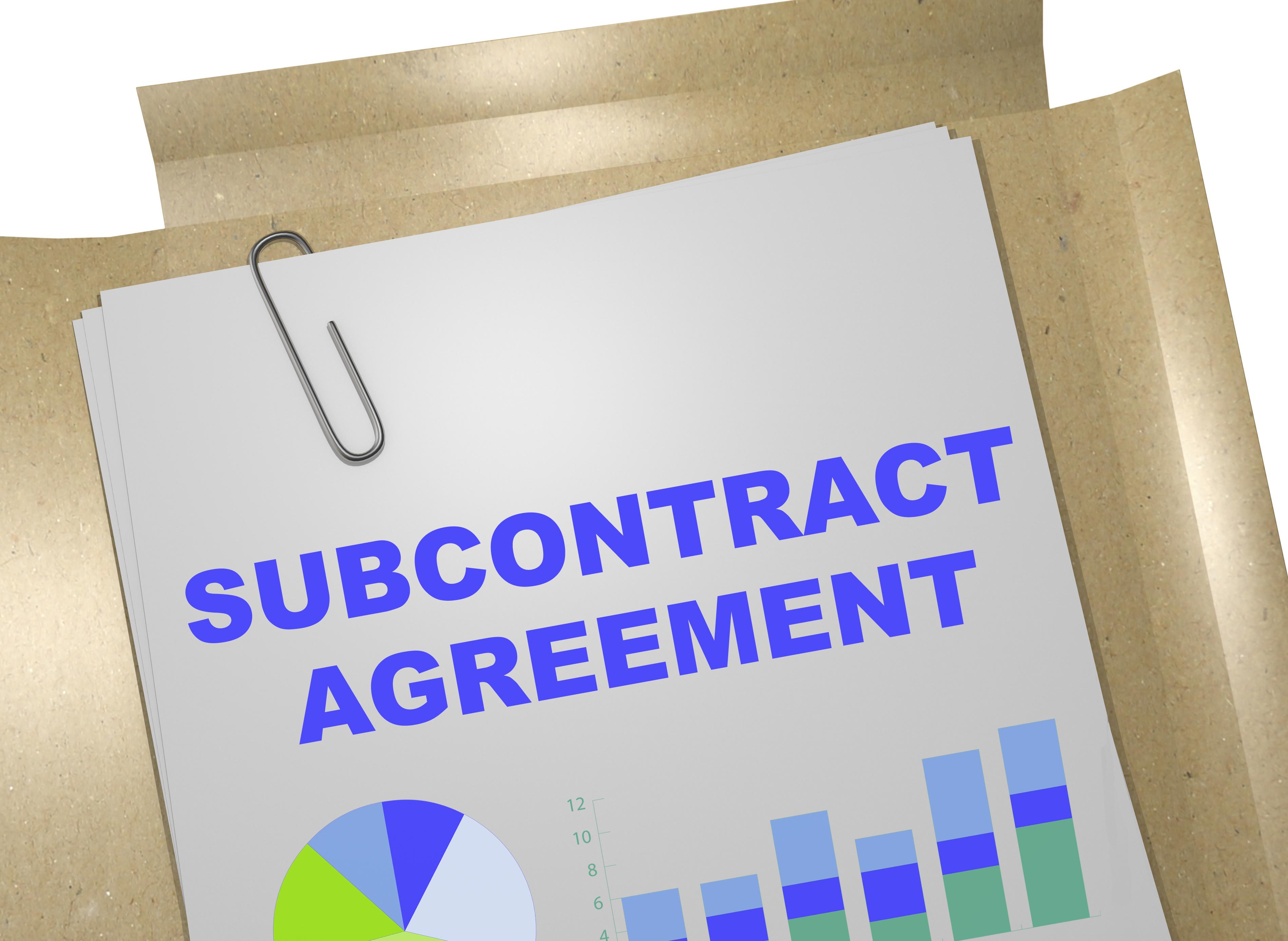 subcontractor work comp