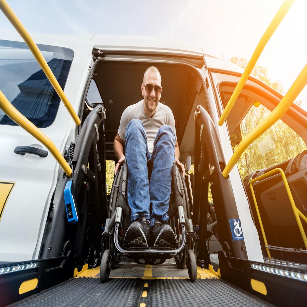 wheelchair van safety